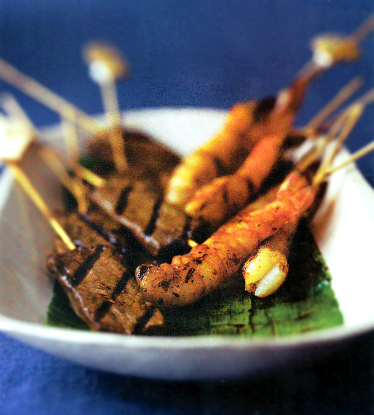 Shrimp and Beef Skewers