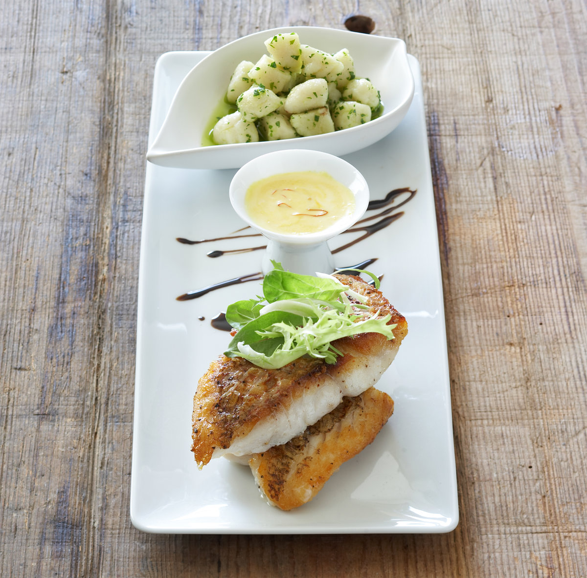 Pan Seared Snapper