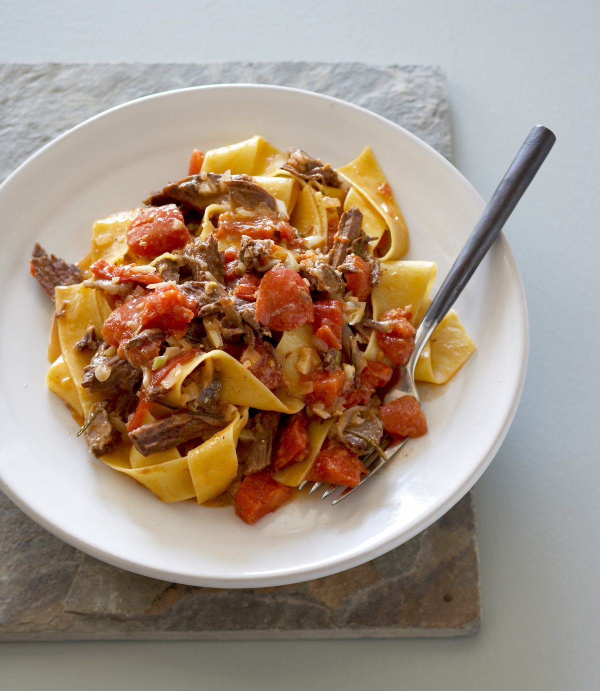 Pappardelle with Roasted Short Rib Ragout
